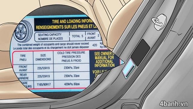Cách đọc thông số vỏ xe ô tô các kí hiệu trên lốp ô tô - 9