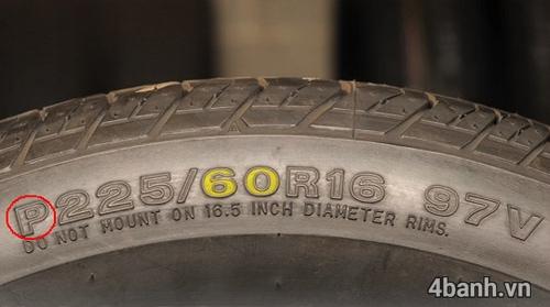 Cách đọc thông số vỏ xe ô tô các kí hiệu trên lốp ô tô - 2